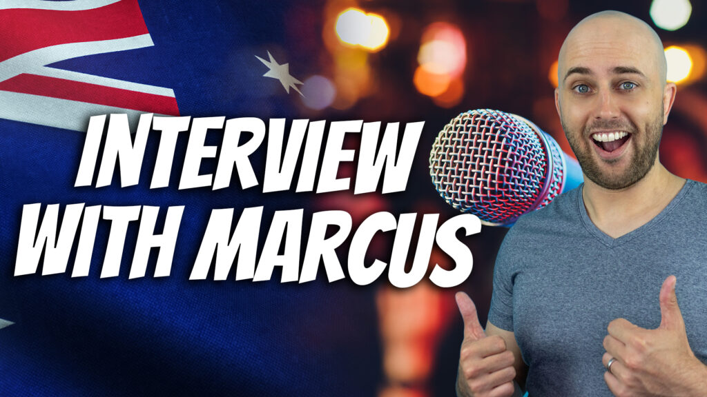 pete smissen, host of aussie english, learn english with pete, marcus kain interview 2016, learn aussie english