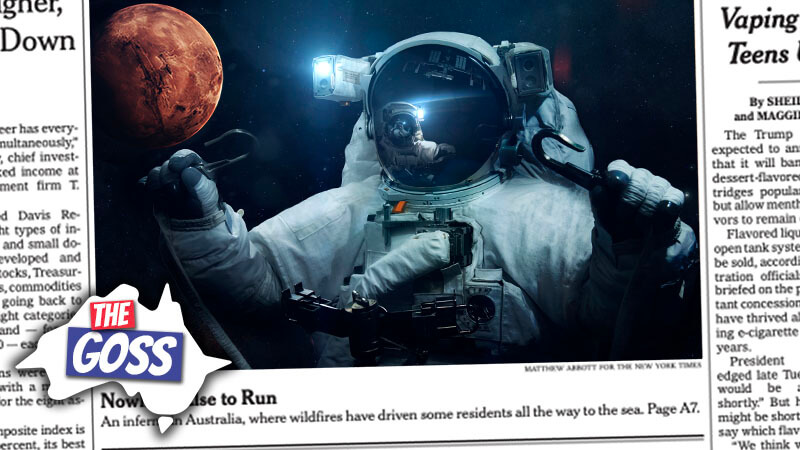 going to mars, problem with brumbies, aussie english, the aussie english podcast