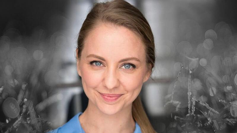 candice moll, an aussie actress in america, aussie english