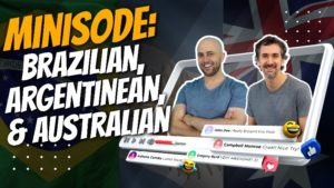 pete smissen, host of aussie english, mini episode, aussie english interview, interview with martin ruffo