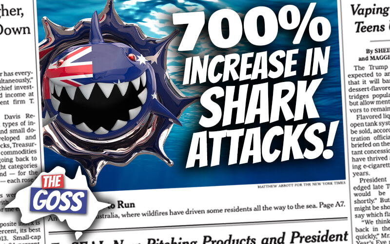 pete smissen, host of aussie english, the goss australia, ian smissen father, shark attacks australia
