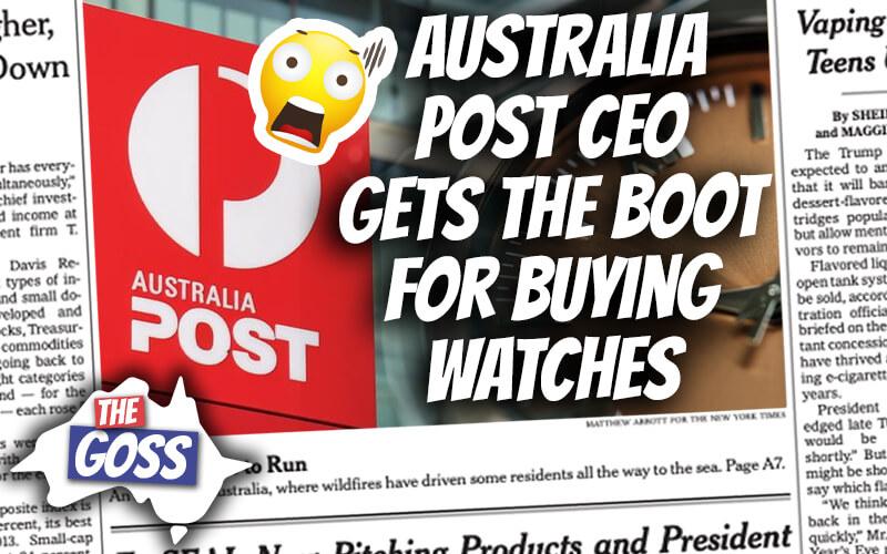 pete smissen, host of aussie english, the goss australia, ian smissen father, gladys berejiklian scandal, australia post ceo