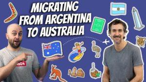 pete smissen, host of aussie english, interviews martin ruffo, inspiringed.com, australian migrant story, from argentina to australia, australian immigrant story