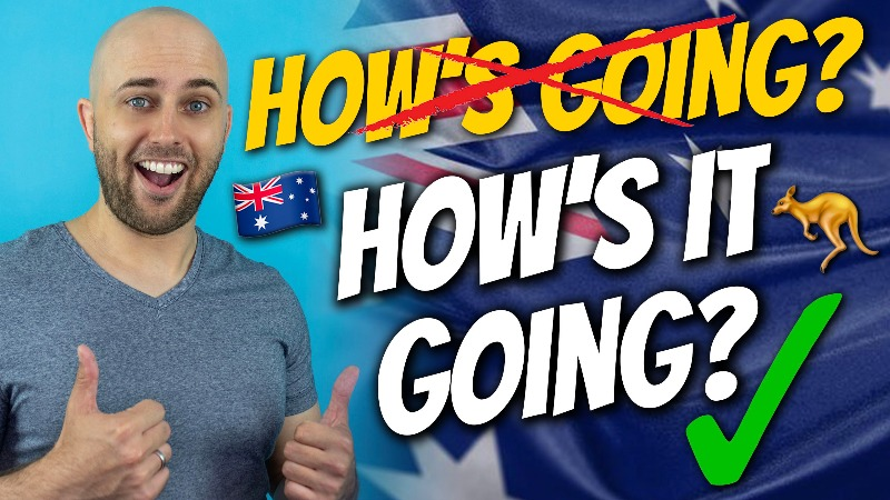 pete smissen, host of aussie english, how to say how's it going, australian accent lesson, how to say how is it going, accent practice, australian pronunciation lesson