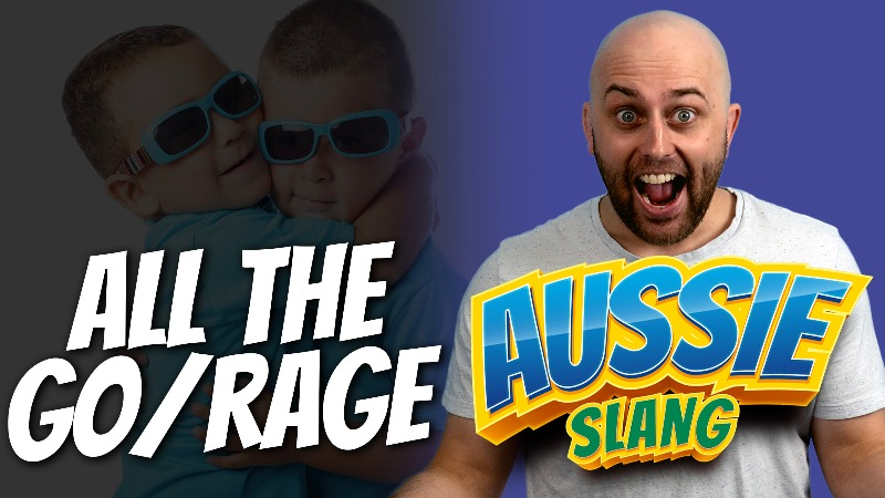 pete smissen, host of aussie english, talk about english expressions, what is all the go, what is all the rage, all the rage meaning, all the go meaning