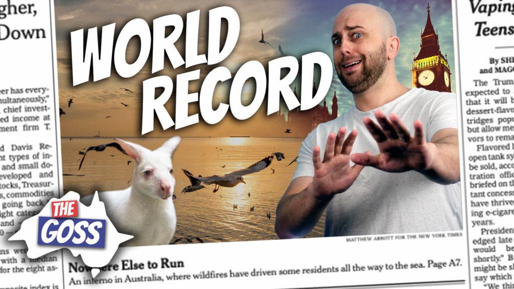 pete smissen, host of the aussie english podcast, talks to father ian smissen, the goss australia, world record bird migration in australia, bar tailed godwit australia, bar tailed godwit migration