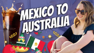 pete smissen, host of aussie english, interviews paulina bravo, latinoz education, australian migrant story, aussie culture vs mexico culture