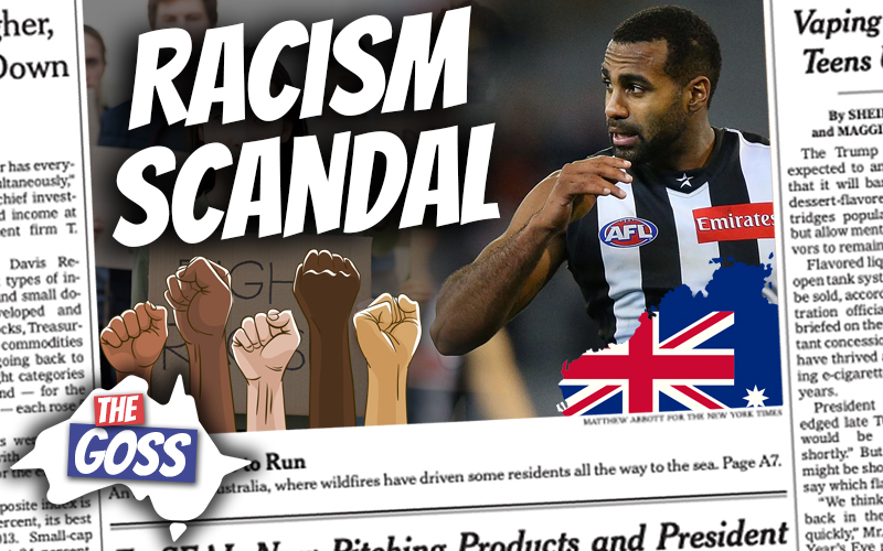 pete smissen, talks to ian smissen, pete smissen father, host of aussie english podcast, the goss australia, australia news, collingwood racism scandal, collingwood systemic racism, what happened in collingwood racism