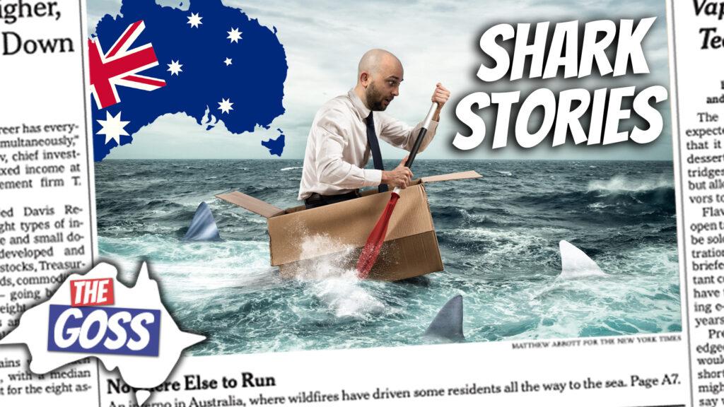 pete smissen, host of aussie english podcast, talks to ian smissen father, the goss australia, australian culture, australian sharks stories,