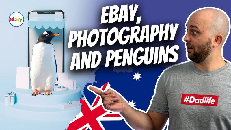 pete smissen, host of aussie english podcast, walking with pete, ebay auction experience, photography lenses, fairy penguins australia