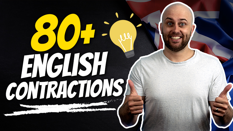 pete smissen, host of aussie english podcast, english gramma lessons, learn english with pete, what is contractions english, contractions in english, lesson contractions