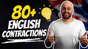 pete smissen, host of aussie english podcast, learn english with pete, free english lesson, contractions in english language, what is contractions, example contractions english