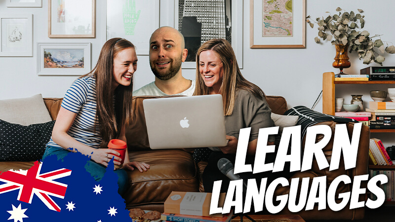 pete smissen, host of the aussie english podcast, learn english with pete, penny and bec, language chats interview, interview penny and bec, australian english teachers, how australians learn other languages, how to learn other languages, learn english with pete
