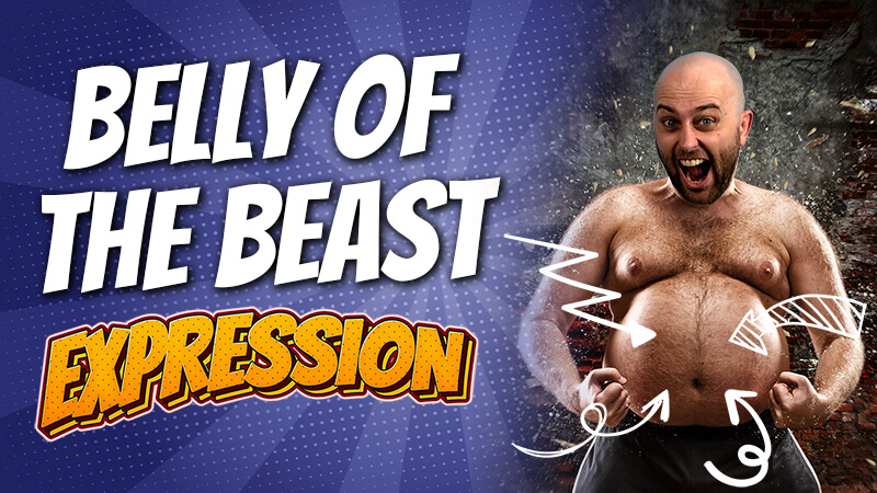pete smissen, host of the aussie english podcast, english expression, english idioms examples, belly of the beast, what is belly of beast, belly of the beast meaning,
