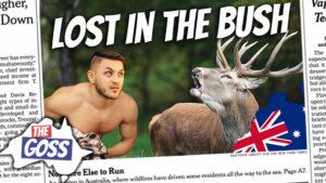 pete smissen, host of aussie english podcast, naked men lost in the bush in nsw, the goss, ian smissen, australia news opinion