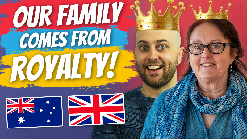 pete smissen, host of the aussie english podcast, interview with jo smissen, pete smissen mother, smissen family descends from european royalty