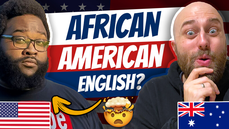 pete smissen, host of the aussie english podcast, reaction to fake flight attendant duct tape video, flight attendant duct tape video, james bates the real spark, aave lesson, black english lesson, african american english