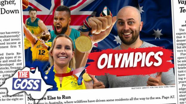 pete smissen, aussie english podcast, learn english online course, learn english australia, the goss, australia opinion, tokyo olympics 2020, australia in tokyo olympics 2020, ian smissen, english listening practice