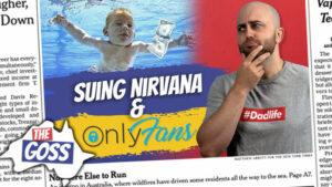 pete smissen, aussie english podcast, ian smissen, the goss, australia opinion, lean english podcast, australian podcast host, learn language podcast, learn english online course, man sues nirvana for child pornography,