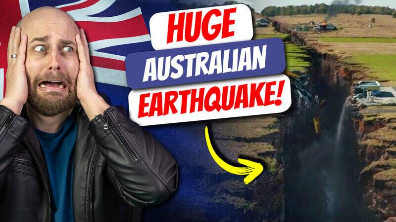 pete smissen, aussie english podcast, learn english australia, learn english online course, australia earthquake september 2021, rare australia earthquake, massive earthquake victoria australia, australian podcast, australian podcast host, learn english podcast