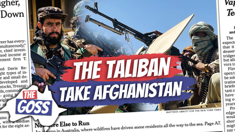 pete smissen, aussie english podcast, learn english australia, learn english with pete, learn language podcast, australian podcast host, learn english podcast, learn english online course, ian smissen, the goss australia, australia news opinion, taliban take over afghanistan, what happened in afghanistan